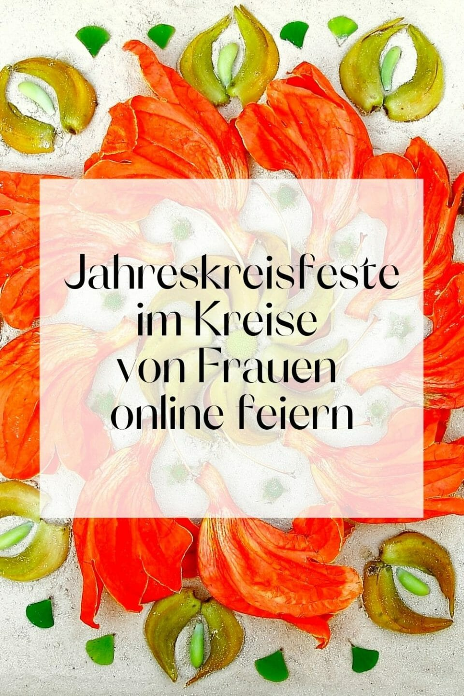 Werbebanner_Online Jahreskreisfeste feiern im Kreise von Frauen