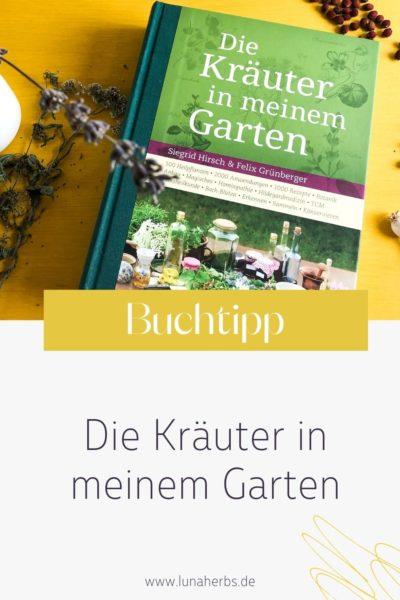 Pinterest_Luna Herbs Wildkräuter Blog_Buchtipp die Kräuter in meinem Garten